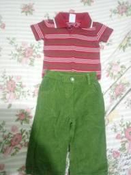 Vendo roupa de bebê menino