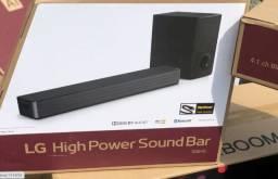 Soundbar LG Snh5 4.1 canais e 600 Watts RMS, lacrado e com NF
