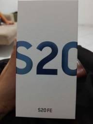 Samsung Galaxy S20 FE, 128gb, 6gb RAM - lacrado, com nota fiscal