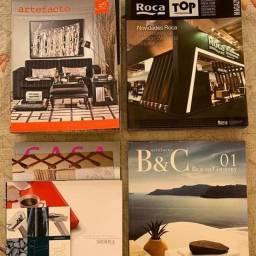 88 revistas de arquitetura e decoração