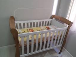 Barco de bebe com colchão novo