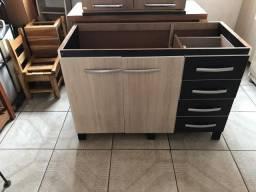 Gabinete para pia de 1,20cm (MDF)