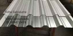 Título do anúncio: Telhas preço BH Galvanizadas melhor com calhas e perfis - zzp telhas