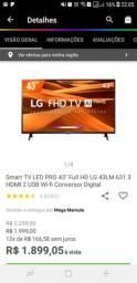 Tv 43 smart full HD SEMI NOVA