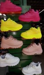 Tênis Sneaker Buffalo  Feminino casual Plataforma