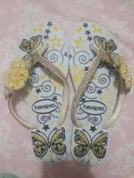 Sandálias Customizadas R$35,00