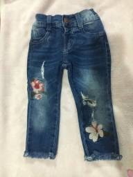 Calça jeans e vestido