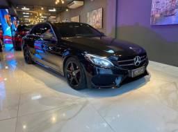 Título do anúncio: Mercedes C250 Sport, 2015, interior vermelho, blindada nível 3A, configuração Linda