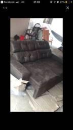 Sofá retraril e reclinável novo!!