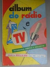 Raros e antigos álbuns fotos artistas famosos da Revista do Rádio - anos 50 perfeitos