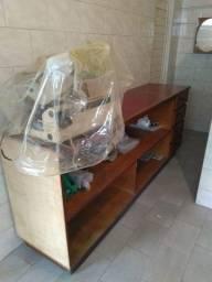 Título do anúncio: Balcão com estantes e gavetas