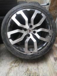 4 rodas 17 pneu tudo zero