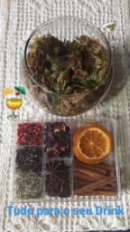 Kit Especiarias Para Gin Tônica - Luxo - Sr Gin