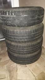 Vedo rodas 13 pneus 75%