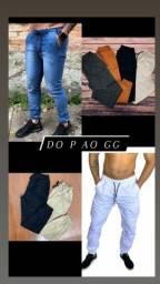 Título do anúncio: CALÇA JORGGER - CORES VARIADAS. P M G GG. peças de fábrica.