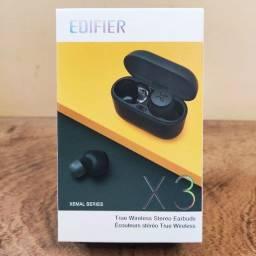 Fone de Ouvido Bluetooth Edifier X3 Lacrado