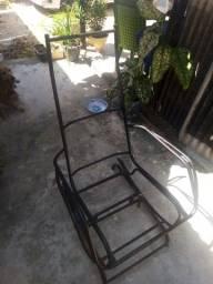 Título do anúncio: Armação de ferro de cadeira de balanço