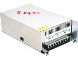 Título do anúncio: fonte chaveada 50 amperes novas garantia ,entrega