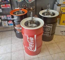 Tambor decorativos pia apartir de 500 reais zap * negócios