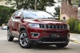 Jeep Compass Limited 2.0 Flex - Revisões em Concessionária - 2017
