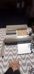 Escrivaninha usada painel pra tv