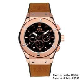 Relógio automático masculino original Paulareis