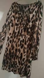 Vestido Onça