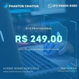 Título do anúncio: Criação de Sites - Promoção Imperdível 12 x 24,90