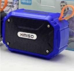 Título do anúncio: Caixa de Som Kimiso À Prova D'água KMS Bluetooth