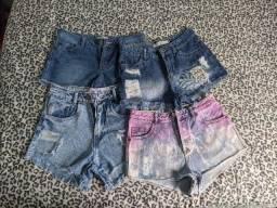 Shorts jeans - tamanho 34