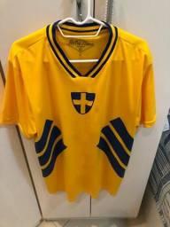 Camisa retrô Suécia TAM G