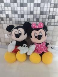 Mickey e Minie.