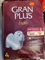 Granplus Menu Mini Ad Frango e Arroz 15kg - Entregamos c/ frete grátis (leia a desc).