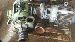 Título do anúncio: Motobomba Motor Weg 10cv. 2 polos.