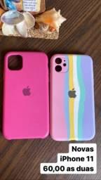 Título do anúncio: 3 Capinhas iPhone 11