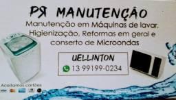 Título do anúncio: Técnico de máquina de lavar