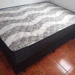 Título do anúncio: COLCHÃO MOLAS ENSACADAS + base casal $799,00
