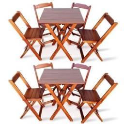 Kit mesas e cadeiras