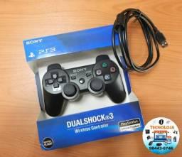 PROMOÇÃO - Controle PS3 Sem Fio Sony + Cabo Grátis