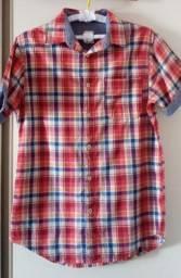 Camisa xadrez Tamanho P boa qualidade