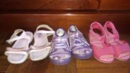 Sandálias para Meninas Hello Kitty + Kiko & Kuka + Tênis Klin