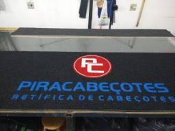 Atendemos Piracicaba e região!! Peça um orçamento capachos personalizados