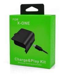 Título do anúncio: Bateria Com Cabo Carregador Para Controle Xbox One Charge