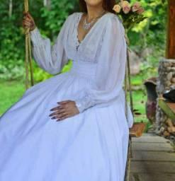 Vestido de noiva estilo romântico