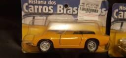 Carro miniatura Historia dos carros brasileiros  Puma, DKW, Gordini, FNM