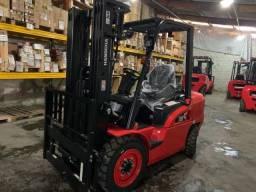 Empilhadeira Hangcha Diesel   3,8 toneladas   Torre Triplex