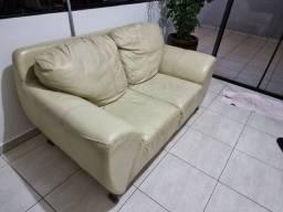 Sofa de couro em ótimo estado