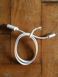 Título do anúncio: Cabo USB branco