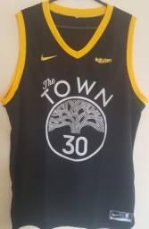 Camisas do Golden State - The Town (preta)