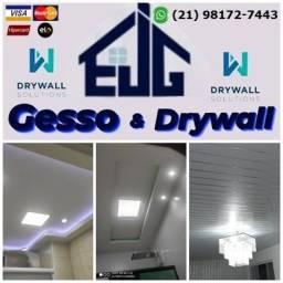 Título do anúncio: 1. Gesso, Sancas, Drywall, Divisórias, Forro, PVC